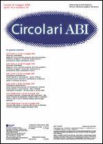 Immagine di Circolari ABI n. 19 del 25 maggio 2009