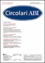 Immagine di Circolari ABI n. 40 del 5 novembre 2007