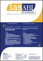 Immagine di Ias ABI BlueBook n.32 del 19 marzo 2007