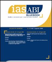 Immagine di Ias ABI BlueBook n.48 del 3 agosto 2009