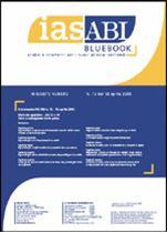Immagine di Ias ABI BlueBook n. 12 del 18 aprile 2005