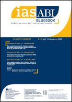 Immagine di Ias ABI BlueBook n.50 del 14 dicembre 2009
