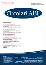 Immagine di Circolari ABI n. 22 del 13 giugno 2011