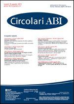 Immagine di Circolari ABI n. 31 del 15 agosto 2011