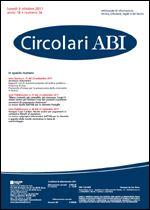 Immagine di Circolari ABI n. 36 del 3 ottobre 2011