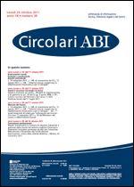 Immagine di Circolari ABI n. 39 del 24 ottobre 2011