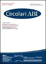 Immagine di Circolari ABI n. 42 del 14 novembre 2011