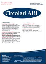 Immagine di Circolari ABI n. 11 del 26 marzo 2012