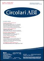 Immagine di Circolari ABI n. 36 del 1 ottobre 2012