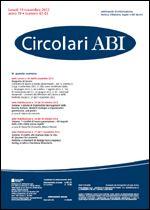 Immagine di Circolari ABI n. 42-43 del 19 novembre 2012
