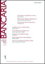 Immagine di Bancaria n. 1/2015