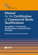 Immagine di Manual for the Certification of Commercial Banks Qualifications