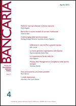 Immagine di Bancaria n. 4/2015