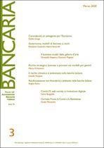 Immagine di Bancaria n. 3/2020