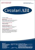Immagine di Circolari ABI n. 34-35 del 14 settembre 2020
